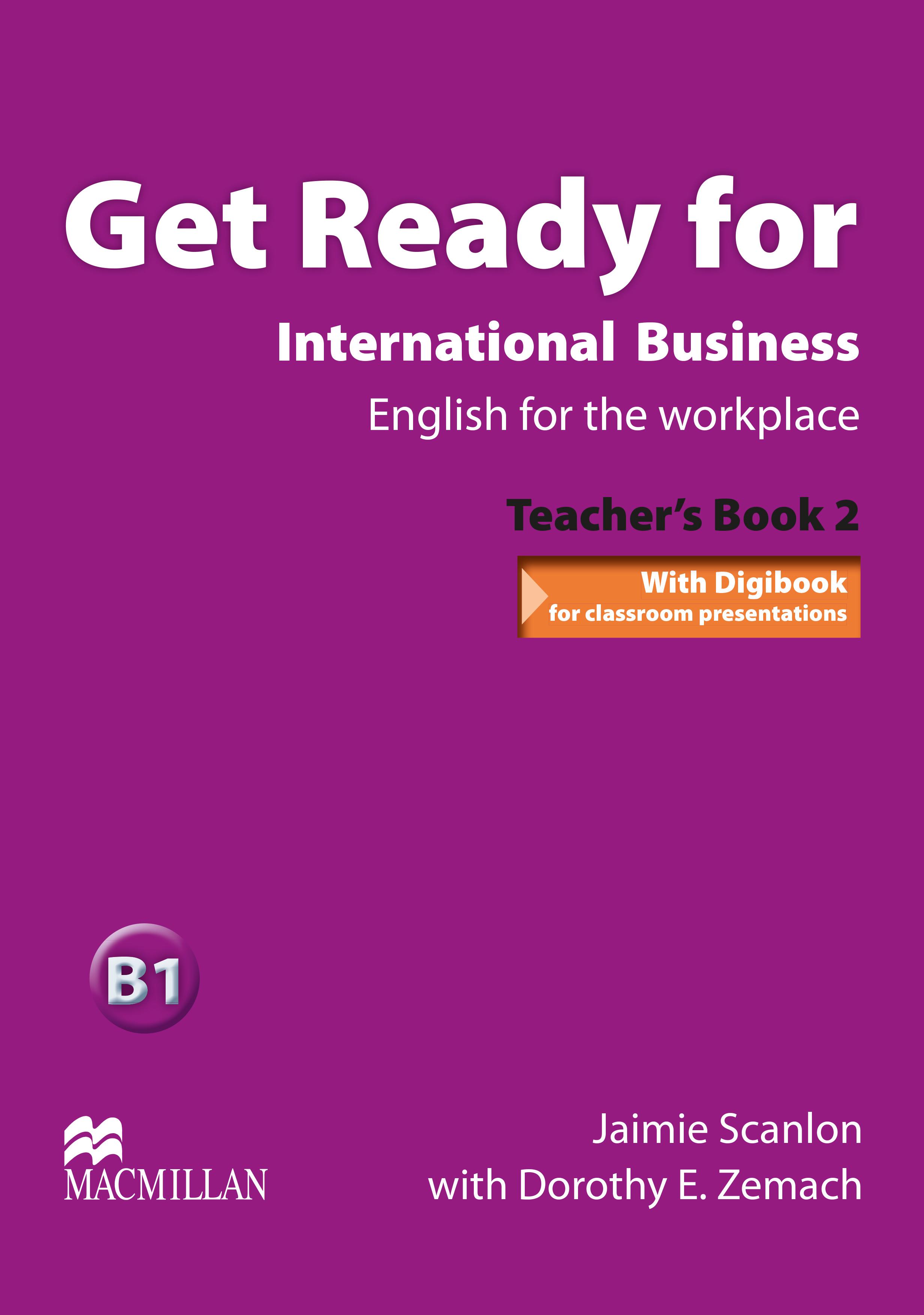 Get Ready For International Business 2 Teacher
