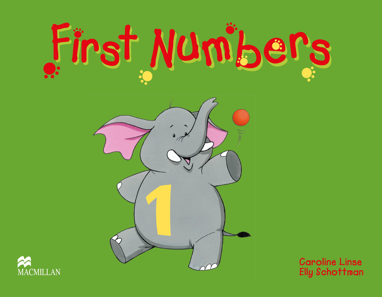Fingerprints 1 First Numbers Book