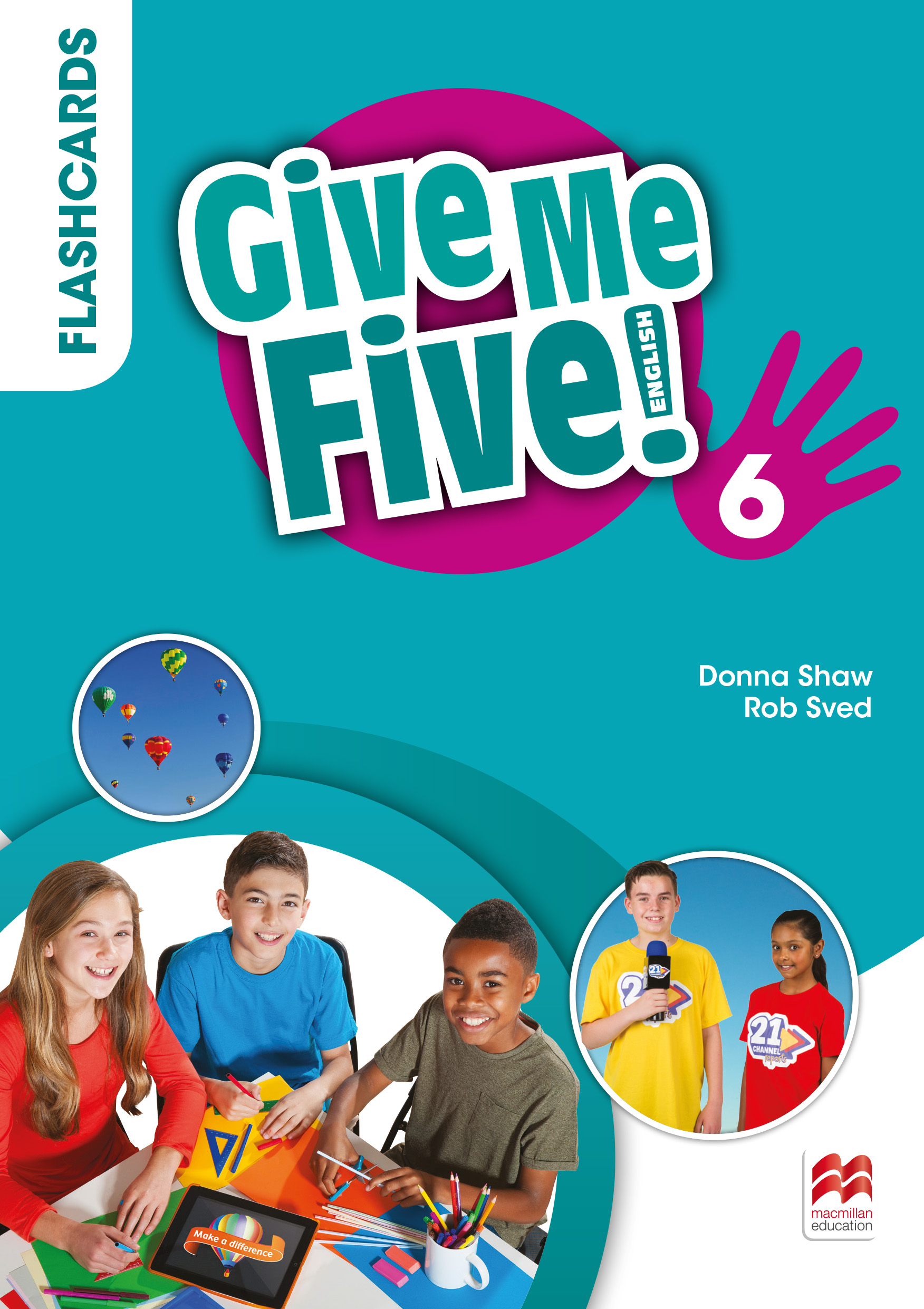 Give Me Five! Level 6 Flashcards